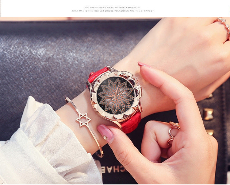 Luxury Rose Gold, High Fashion, Casual, Crystal Quartz Dress Watch, Beautiful Leather Strap,  (Free Shipping)