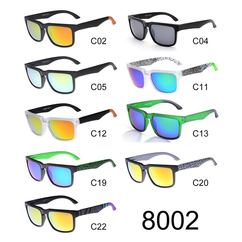 Reflective Coated Unisex Sunglasses Great Square Range Always Nice to Wear the Best  (Free Shipping)