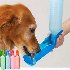 250ml or 500ml Portable Pet Water Bottles Foldable Drinking Tank Feeding and Water Bowl  (Free Shipping)