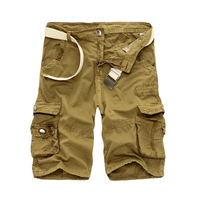 Army Camouflage Tactical Mens Military Cargo Shorts Loose Cotton, Work Casual, Shorts (Free Shipping)