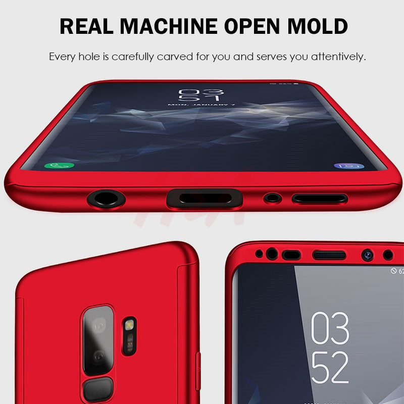 "AMSUNG GALAXY ""S""  360 Full Cover, Shockproof 360  Case (Free Shipping)"