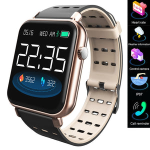 Y6pro Unisex Smart, Bluetooth, Electronic, Pedometer, Heart Rate Sports Fitness Tracker (Free Shipping)