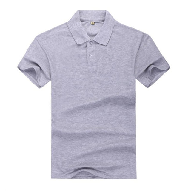 Men's Polo Casual Shirt Short Sleeve Cotton Polo Shirt Slim Fit Polo Shirt Latest Summer Wear (Free Shipping)