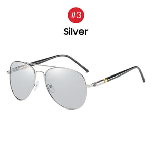 Latest Men's Aviator Sunglasses Polarized UV400 Day or Night Titanium Unisex Sun Glasses  (Free Shipping)