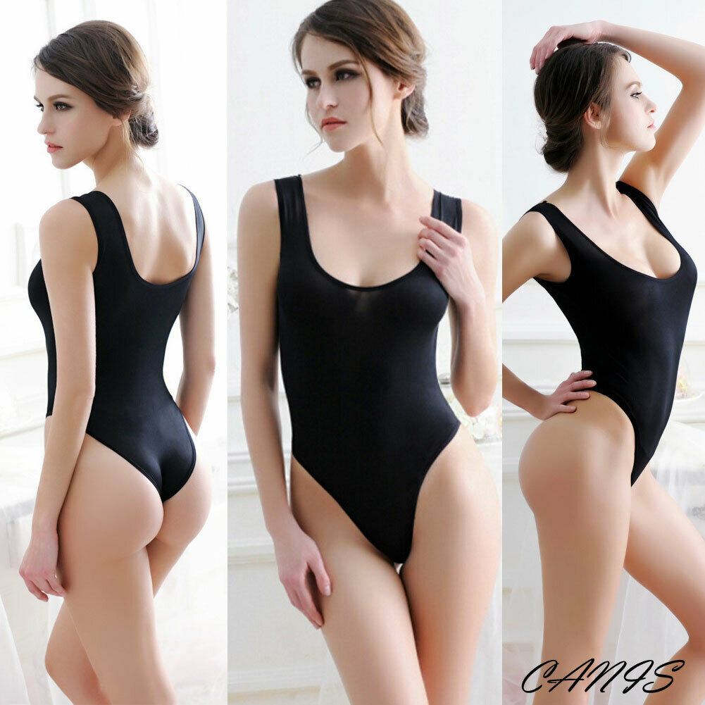 Transparent Backless Bodysuit, Sleepwear, Underwear, Sexy Nightwear, Solid Swimwear,  (Free Shipping)