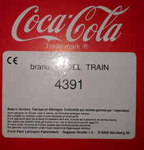"Load image into Gallery viewer, LGB 4391 Can't Beat the Feeling!"" Coca-Cola boxcar G-Scale"