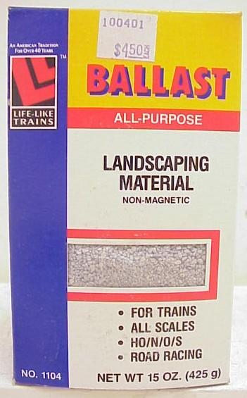 Life Like Trains 1104 All Purpose Ballast All Models Scale