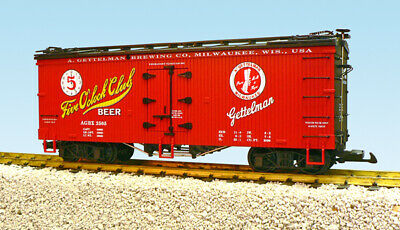 USA Trains r16395 - Five O'Clock Club Beer-Red/Black G-scale