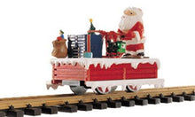 Load image into Gallery viewer, LGB 21010 G-scale Christmas Handcar with Santa NIB