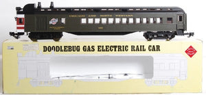 ARISTOCRAFT 21204 Chicago and North Western Doodlebug GAS ELECTRIC RAIL CAR G-scale NIB