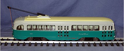 Aristo-Craft 23316  PCC Trolley  Capitol Transit NIB