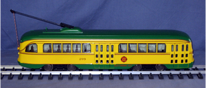 Aristo-Craft 23317  PCC Trolley  Minneapolis NIB
