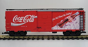 "LGB 4391 Can't Beat the Feeling!"" Coca-Cola boxcar G-Scale"