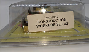 Aristo-Craft 62012 Construction Workers #2 Figures 4 pcs Set NEW