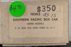 Empire Models SP HOn3 Box Car