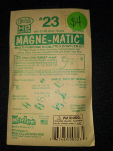 Kadee 23 HO Magne-Matic Multi-purpose Coupler Set