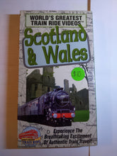 Load image into Gallery viewer, World's Greatest Train Ride VHS Scotland and Wales Sealed