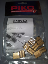 Load image into Gallery viewer, Piko 35294 RAIL CLAMPS, OVER JOINER, 10 PCS (G-SCALE)