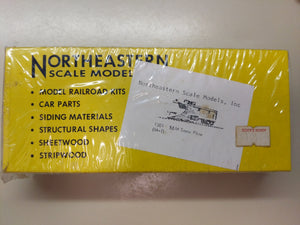 Northeastern Scale Model HO Snow Plow Kit Sealed HM-1