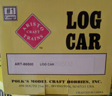 Load image into Gallery viewer, Aristo-Craft 86500 Log Car with Logs G-CScale