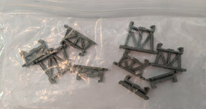 HO Bridge Pieces Gray HOG1