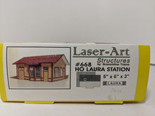 Load image into Gallery viewer, Laser Art 668 HO-scale Laura Station