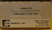 Load image into Gallery viewer, PH Hobbies S9001CH Digital Sound Effect System G-Scale Chicken Sounds