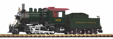 Pennsylvania Mogul #319 Steam Locomotive w/Sound and Smoke NIB