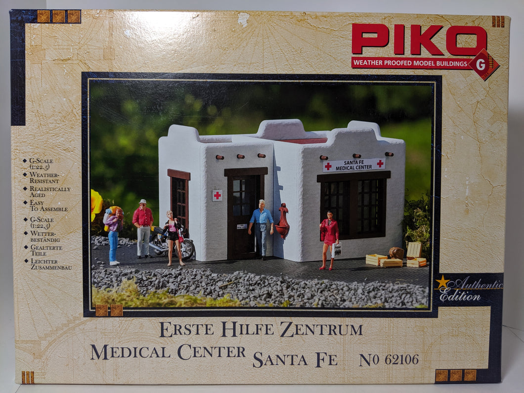 PIKO 62106 G-Scale Santa Fe Medical Center Model Kit