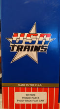 Load image into Gallery viewer, USA Trains r17029 Prince Pasta Piggy Back Flat Car NIB
