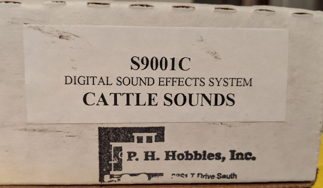 PH Hobbies S9001C Digital Sound Effect System G-Scale Cattle Sounds