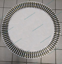 "Load image into Gallery viewer, 31"" Brass Track Circle. G- Gauge. Track only"