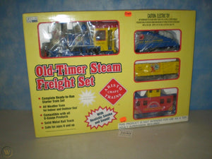 Aristo-Craft 28412 Sesame Street Old Timer Steam Freight Set 30th Anniv. LIMITED ED
