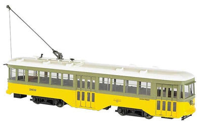 Bachmann 91702 G-scale Los Angeles Railway Peter Witt Streetcar Standard DC #2602