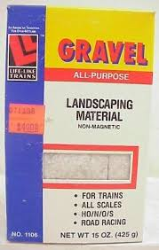 Life Like Trains 1106 All Purpose Gravel (non-magnetic) All Model Scales