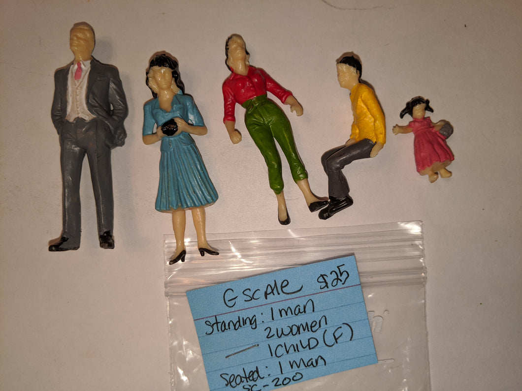 G-scale Lot Figures SC-200