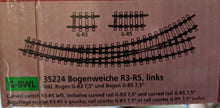 Load image into Gallery viewer, Piko 35224 Manual Curved Switch Left R3-R5 Track (G-Scale) NIB