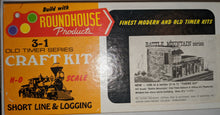 Load image into Gallery viewer, Roundhouse 1514 3-in1 Battle Mountain Model Building Kit HO-scale