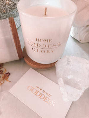 Goddess Glory Candle