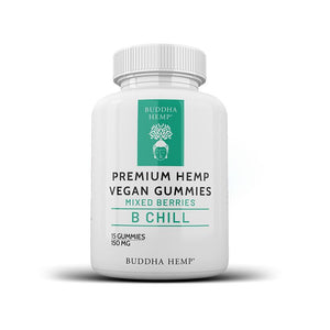 Premium Hemp Vegan Gummies - 150MG (Mixed Berries)