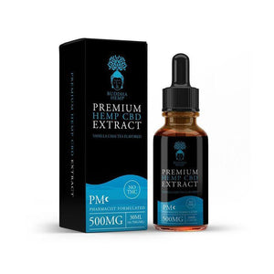Isolate Premium Hemp CBD Oil - No THC