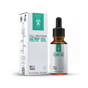 Full Spectrum Hemp CBD Oil – 1500MG (Vanilla Chai)
