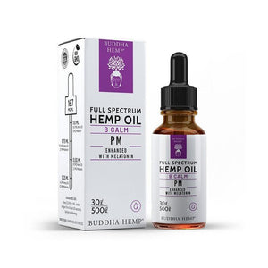 Full Spectrum Hemp CBD Oil w/ Melatonin - 500MG (Vanilla Chai)