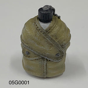 1/6 figure parts:  Water Bottle, WWII U.S. (05G0001)