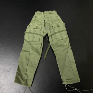 1/6 figure parts: First Pattern Tropical Combat Uniform Trousers, US Army Nam (08T0010)