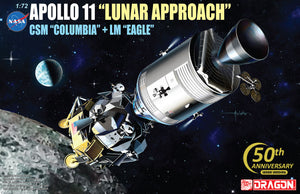 "1/72 Apollo 11 ""Lunar Approach"" CSM ""Columbia"" + LM ""Eagle"""