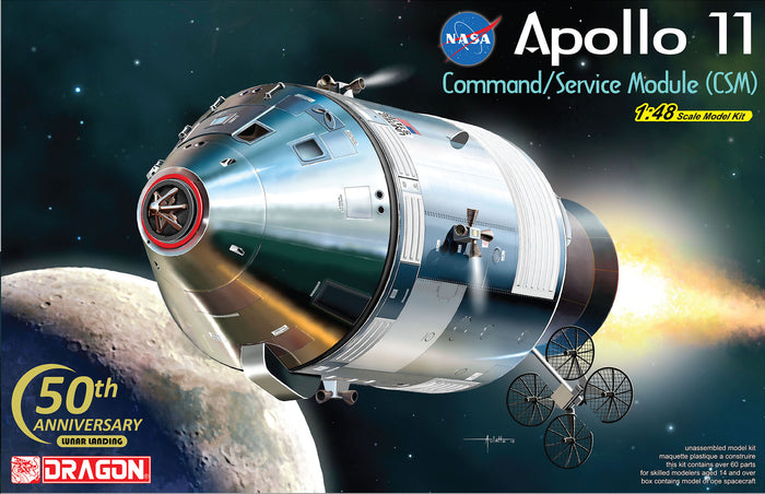 1/48 Apollo 11 Command/Service Module (CSM)