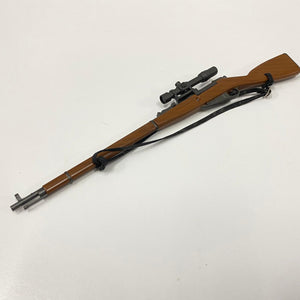 1/6 figure parts: M1891 Mosin-Nagant with scope, WWII USSR Red Army (15W0002)