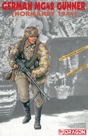 1/16 German MG42 Gunner (Normandy 1944)
