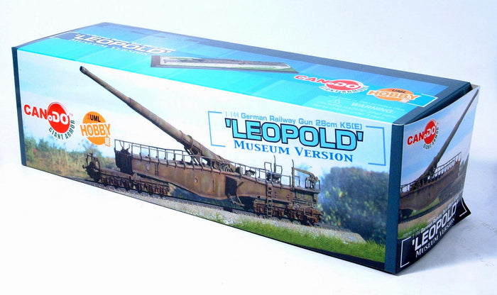 Can.Do 20152 - 1/144 German Railway Gun 28cm K5(E) Leopold (Museum Ver.)